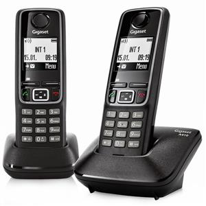Gigaset A410 DUO Cordless Telephone